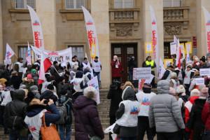 Oświatowa Solidarność zapowiedziała strajk głodowy