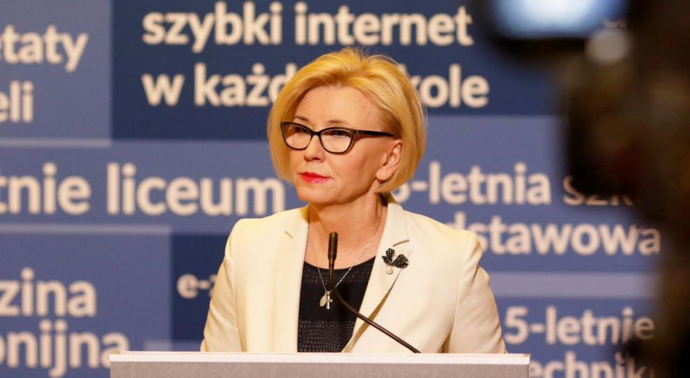 Marzena Machałek: odbudowujemy prestiż zawodu nauczyciela