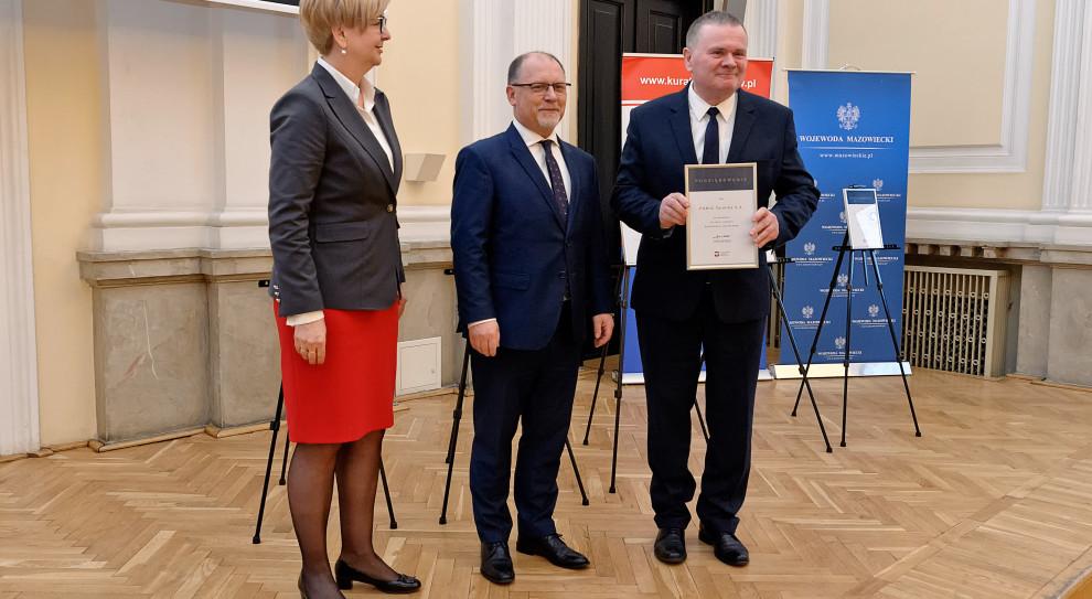 Firmy wyróżnione za wspieranie kształcenia zawodowego w województwie mazowieckim