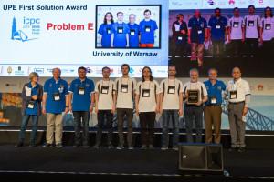 Warszawscy studenci na 4. miejscu w mistrzostwach świata w programowaniu zespołowym
