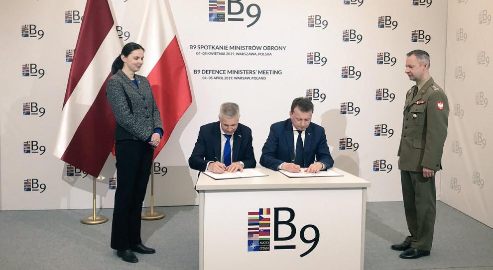 Polska i Łotwa podpisały porozumienie o współpracy w zakresie edukacji obronnej