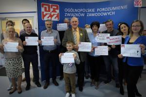 Szef OPZZ apeluje do premiera Mateusza Morawieckiego