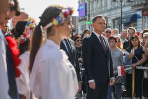 Prezydent chce, by w Polsce żyło się tak, jak w Niemczech