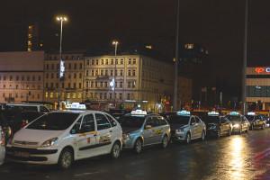 Protest taksówkarzy. Ponad 60 wniosków o ukaranie protestujących