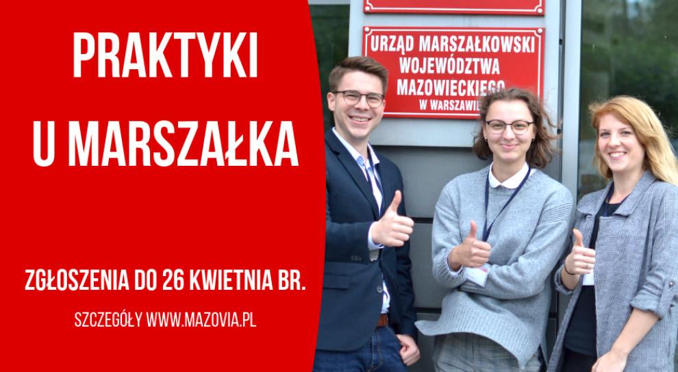 Ruszy nabór na płatny staż w mazowieckim urzędzie marszałkowskim
