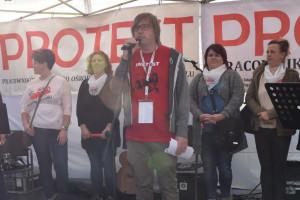 Paweł Maczyński, przewodniczący Polskiej Federacji Związkowej Pracowników Socjalnych i Pomocy Społecznej