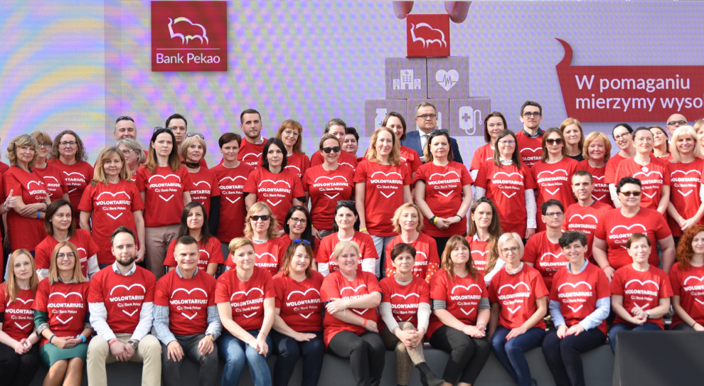 Festiwal Wolontariatu w Pekao. Blisko 1200 pracowników pomaga innym