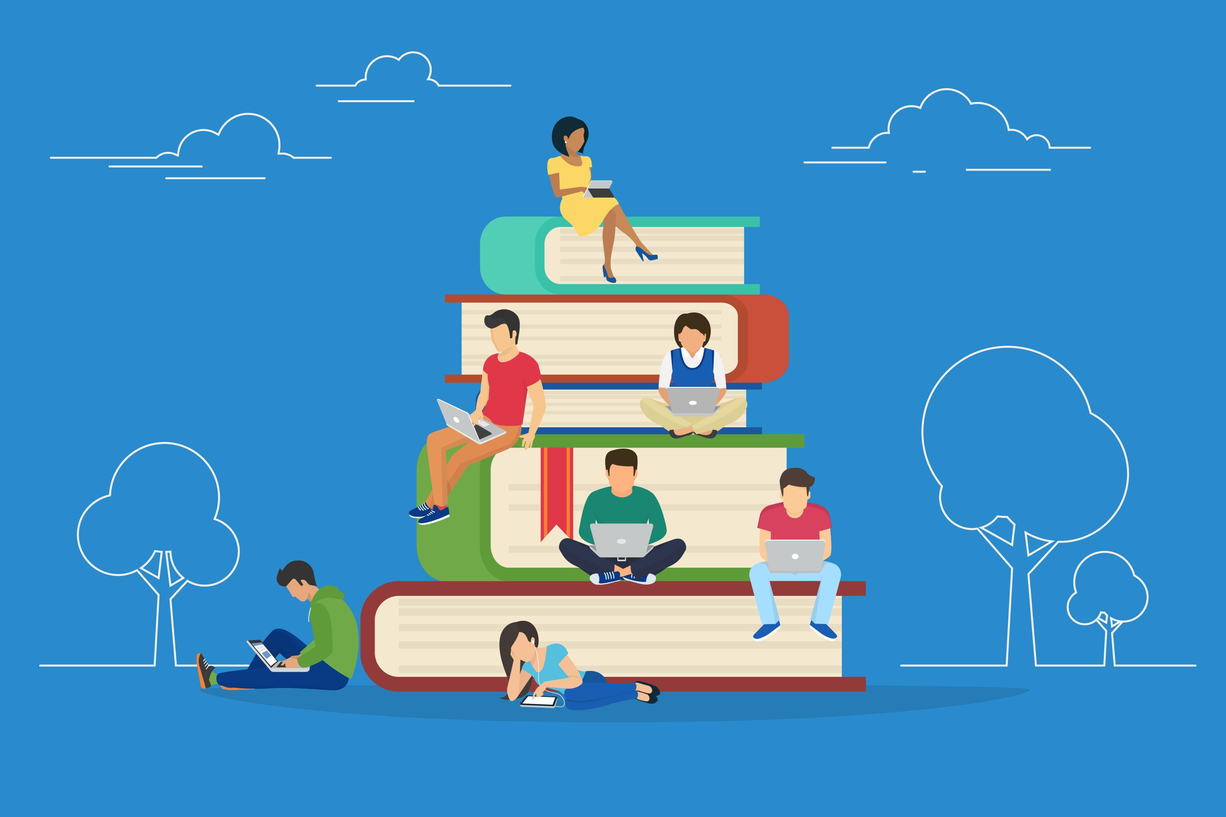 Dbając o motywację, zaangażowanie oraz o zachowanie zdrowego balansu pomiędzy życiem prywatnym a zawodowym, firmy nie mogą oczywiście zapominać o aktualizowaniu wiedzy pracowników. (Fot. Shutterstock)