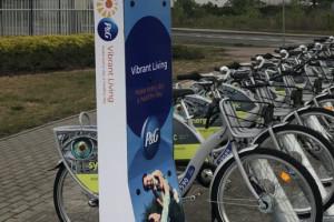 Procter & Gamble ma swoją stację roweru miejskiego. Korzystać mogą nie tylko pracownicy