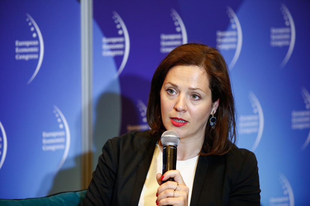 Katarzyna Włodarczyk-Niemyjska, dyrektor Departamentu Prawa i Legislacji Związku Przedsiębiorców i Pracodawców. Fot. PTWP / TK