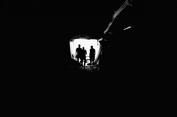 Górnicy uwięzieni w zalanej kopalni