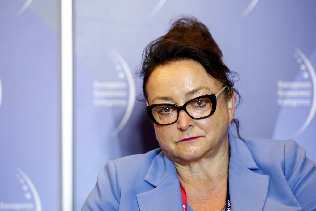 Violetta Skrzypulec-Plinta, prorektor ds. rozwoju i promocji uczelni Śląskiego Uniwersytetu Medycznego (fot. PTWP)