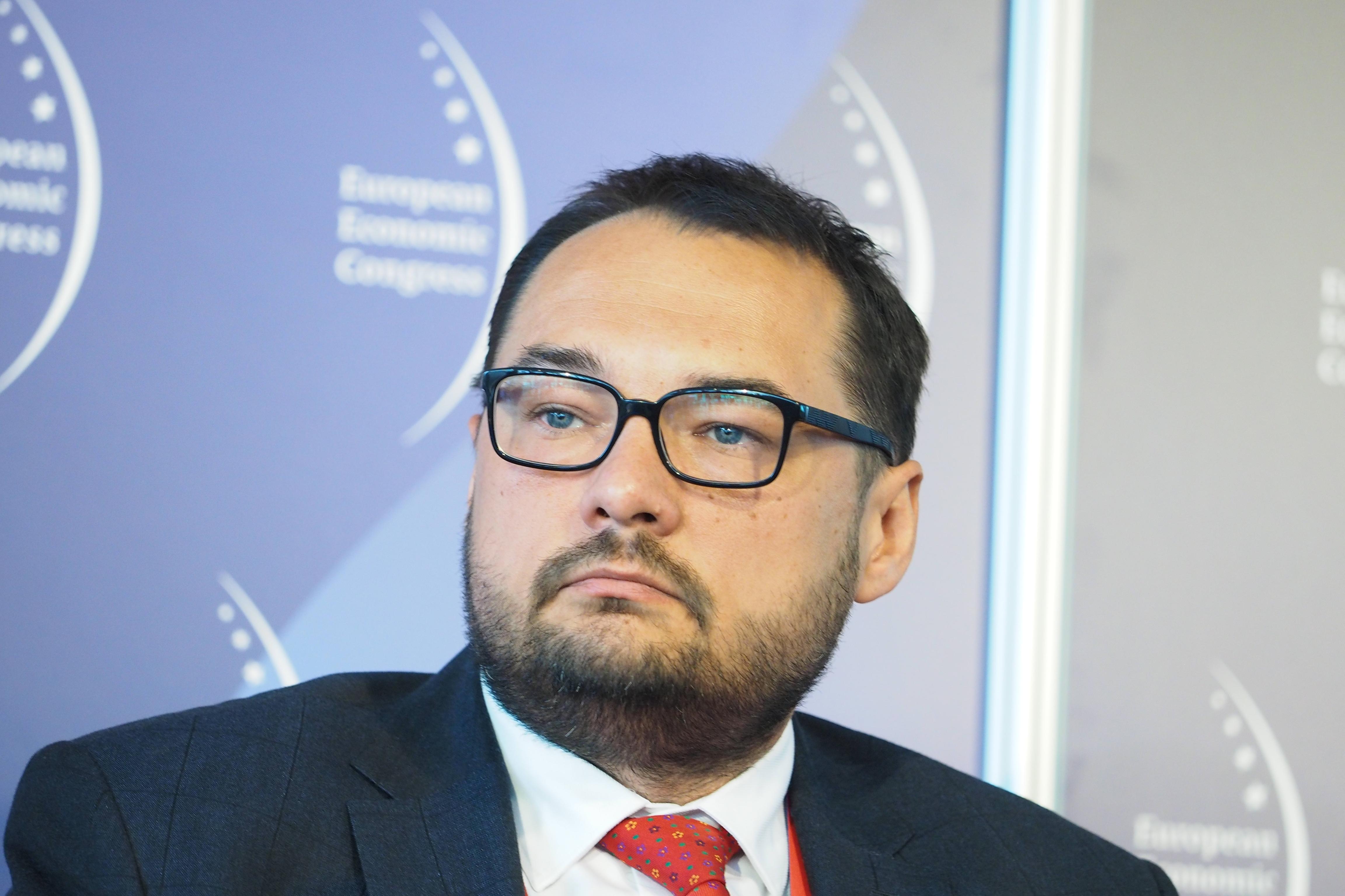 Jarosław Kawula, wiceprezes ds. produkcji i handlu w grupie Lotos (Fot. PTWP)