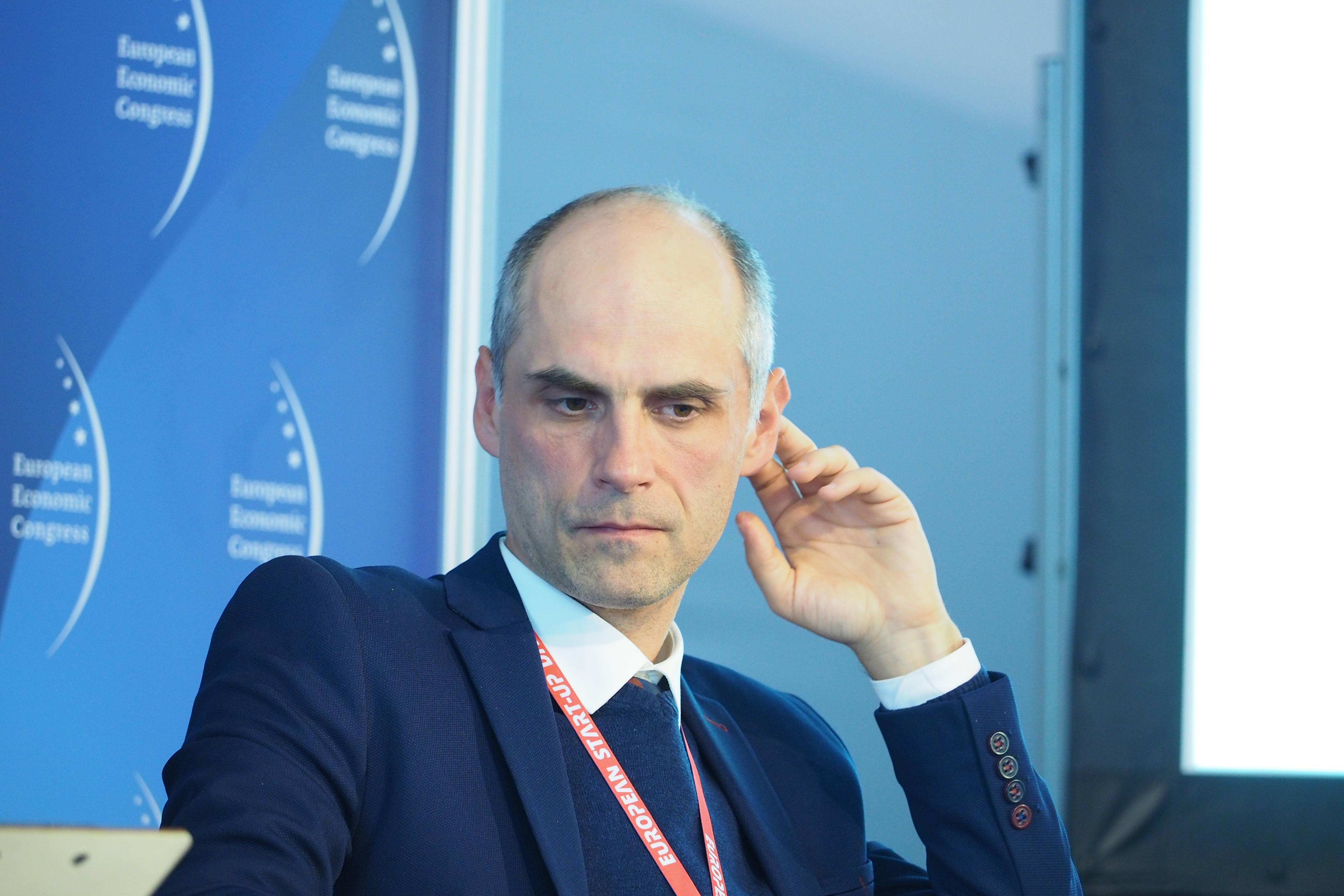 Przemysław Zakrzewski, dyrektor Polskiego Centrum Rozwoju Oprogramowania w ABB (Fot. PTWP)