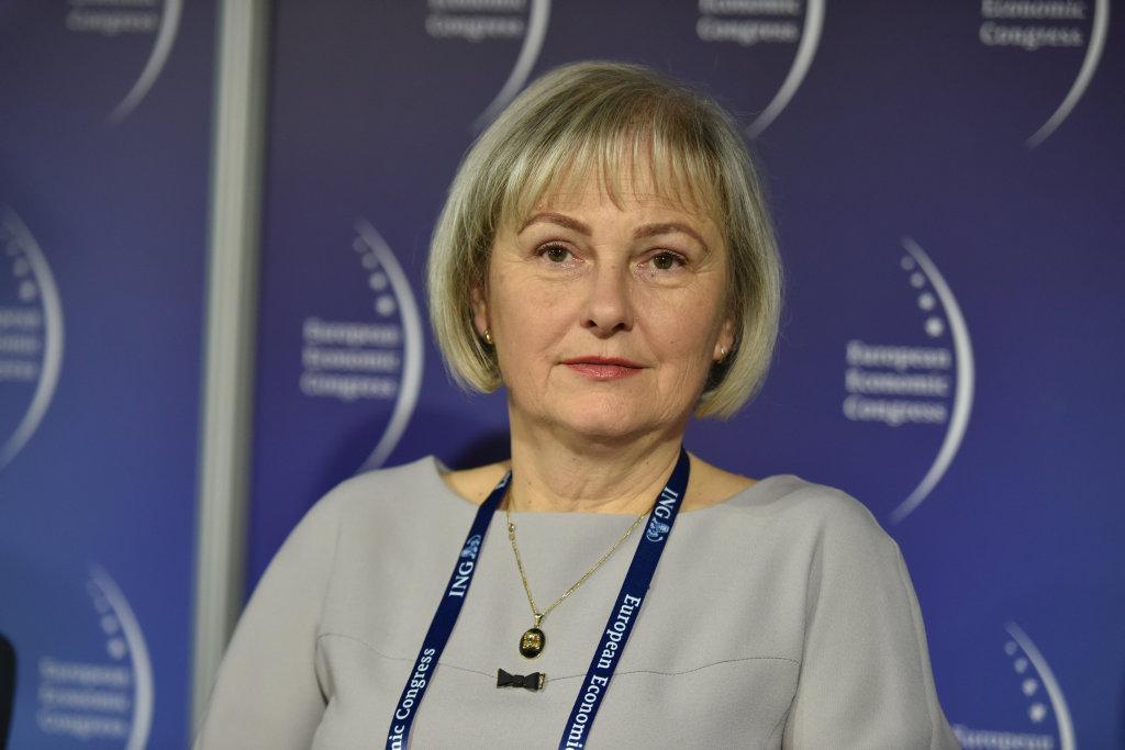 Barbara Kos, prorektor ds. nauki i kadry akademickiej z Uniwersytetu Ekonomicznego w Katowicach (fot. PTWP)