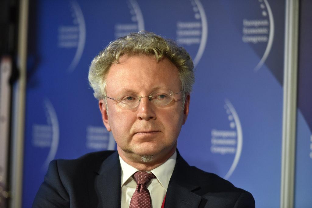 Andrzej Adamski, pełnomocnik rektora ds. inicjatyw proinnowacyjnych Uniwersytetu Jagiellońskiego (fot. PTWP)