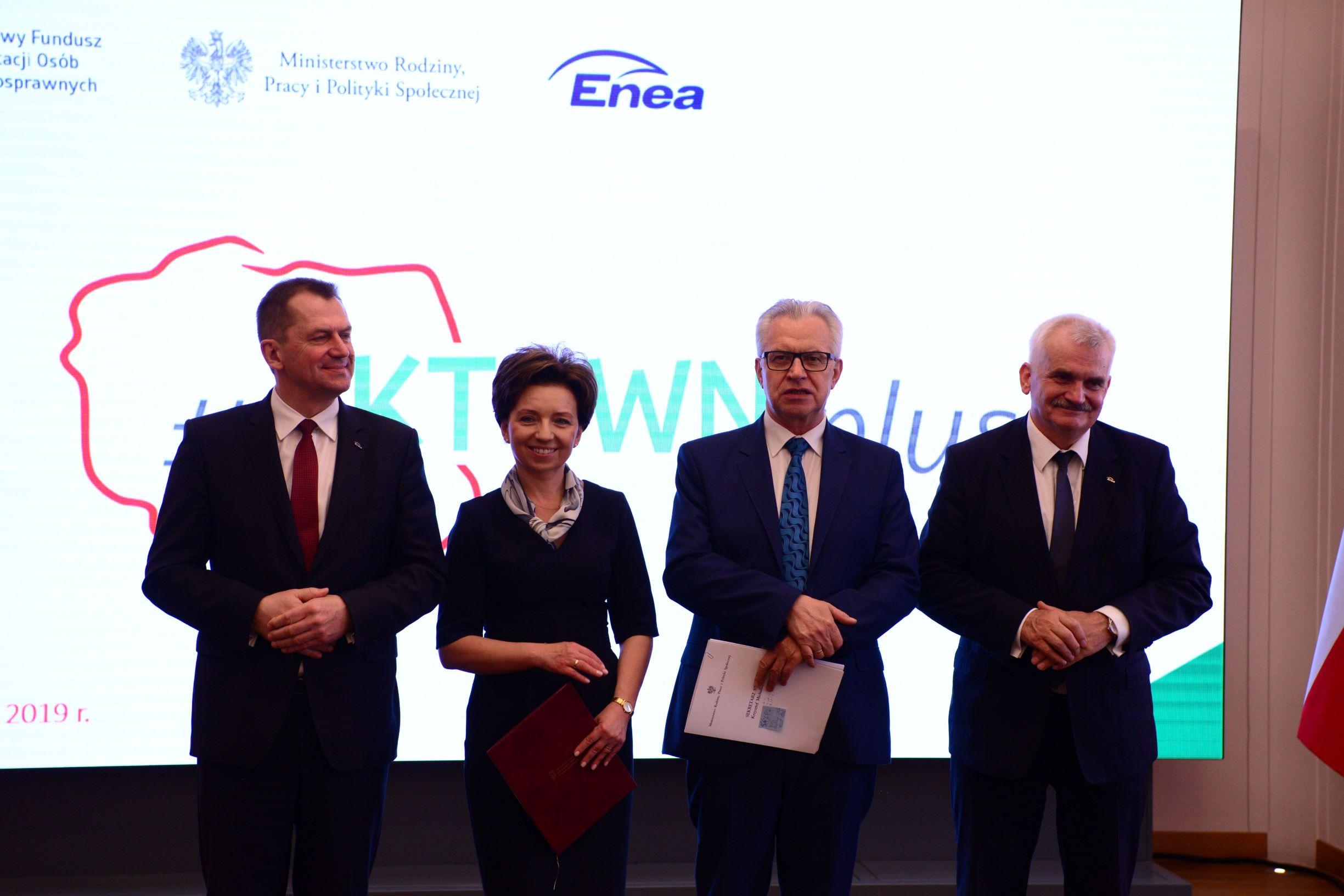 Enea zatrudni we współpracy z PFRON osoby z niepełnosprawnościami (Fot. mat. pras.)
