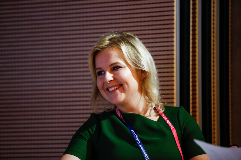 Kamila Kalińczak, redaktor naczelna Instytutu Dobrego Życia (Wysokie Obcasy) (fot. PTWP)
