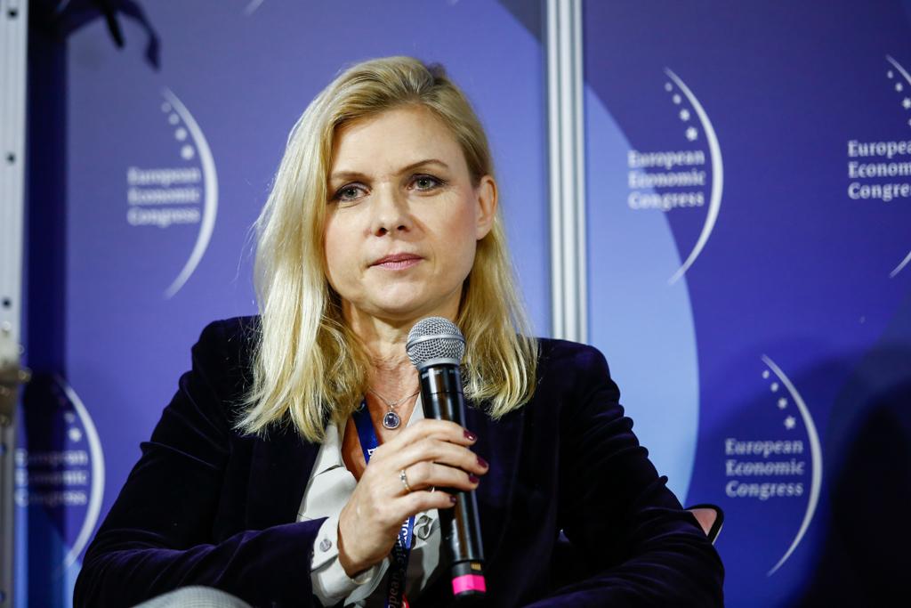 Sonia Draga, prezes i redaktor naczelna wydawnictwo Sonia Draga (fot. PTWP)