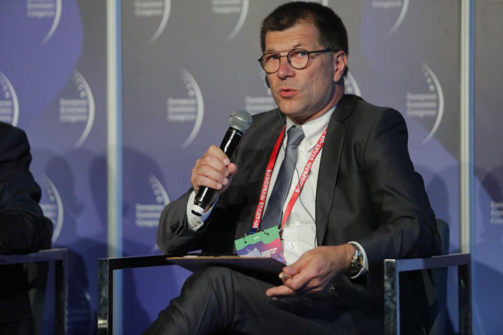 Gert Bogaert, dyrektor wydziału automatyki, informatyki przemysłowej i modeli w ArcelorMittal Poland (fot. PTWP)