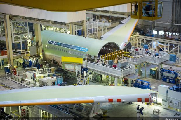 Brytyjskie zakłady Airbusa to dostawca m.in. skrzydeł dla samolotów koncernu. (Fot. mat. pras.)