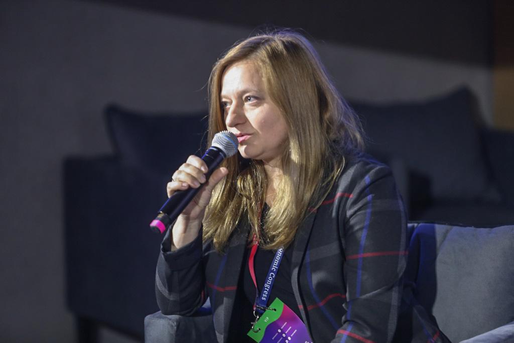 Barbara Chwesiuk, prezes firmy Bialcon