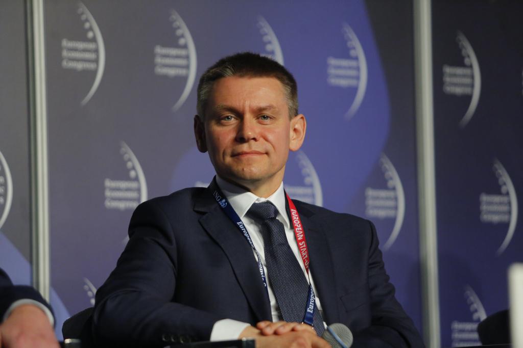 Michał Kaźmierczak, dyrektor Biznesu Robotyki w ABB (fot. PTWP)