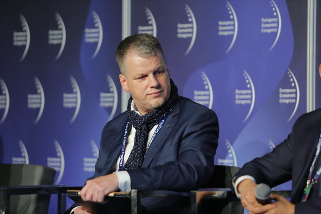 Ireneusz Jazownik, dyrektor naczelny Centralnego Ośrodka Przetwarzania Informacji w KGHM Polska Miedź (fot. PTWP)