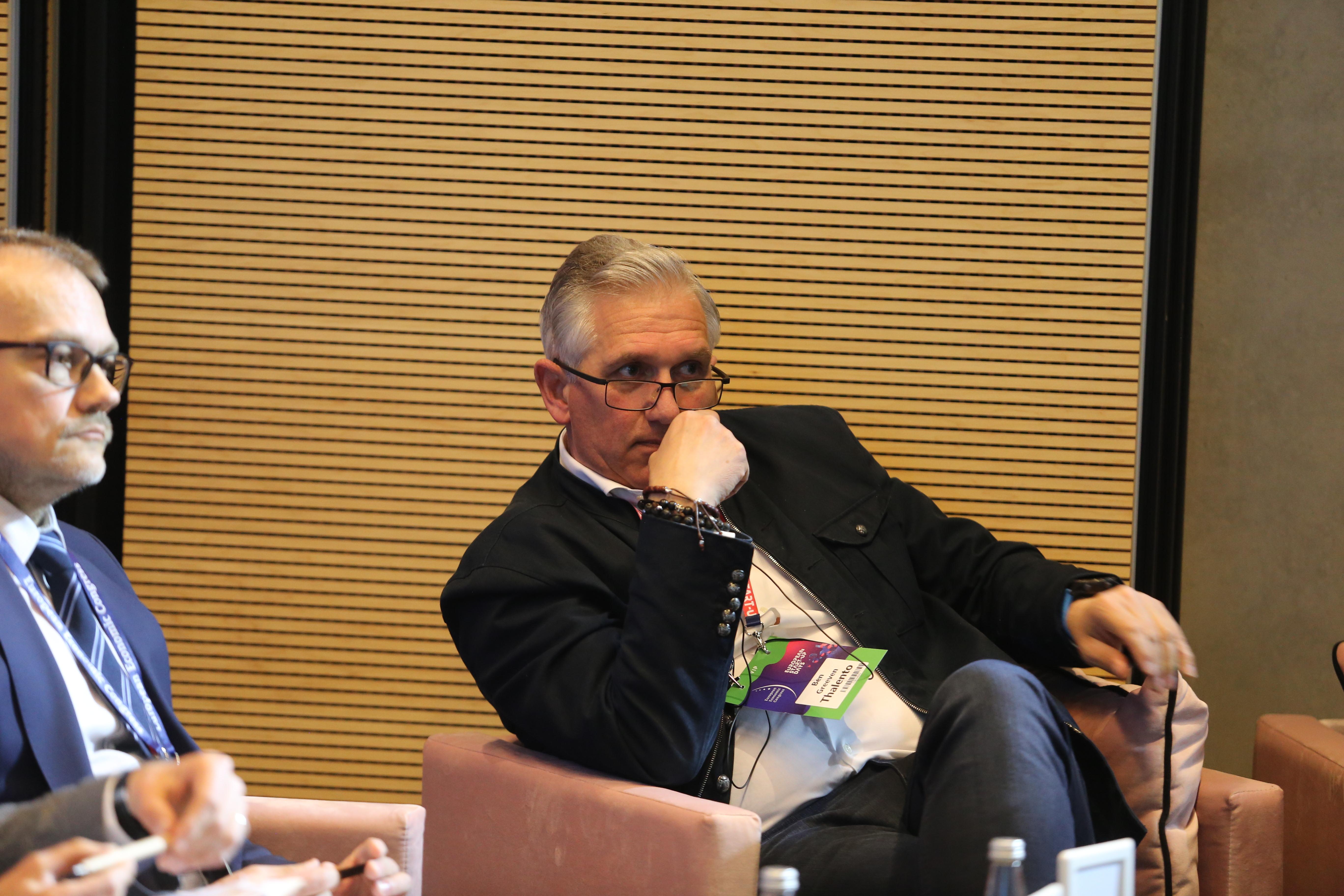 Ben Greeven, CEO i założyciel Thalento (Fot. PTWP)