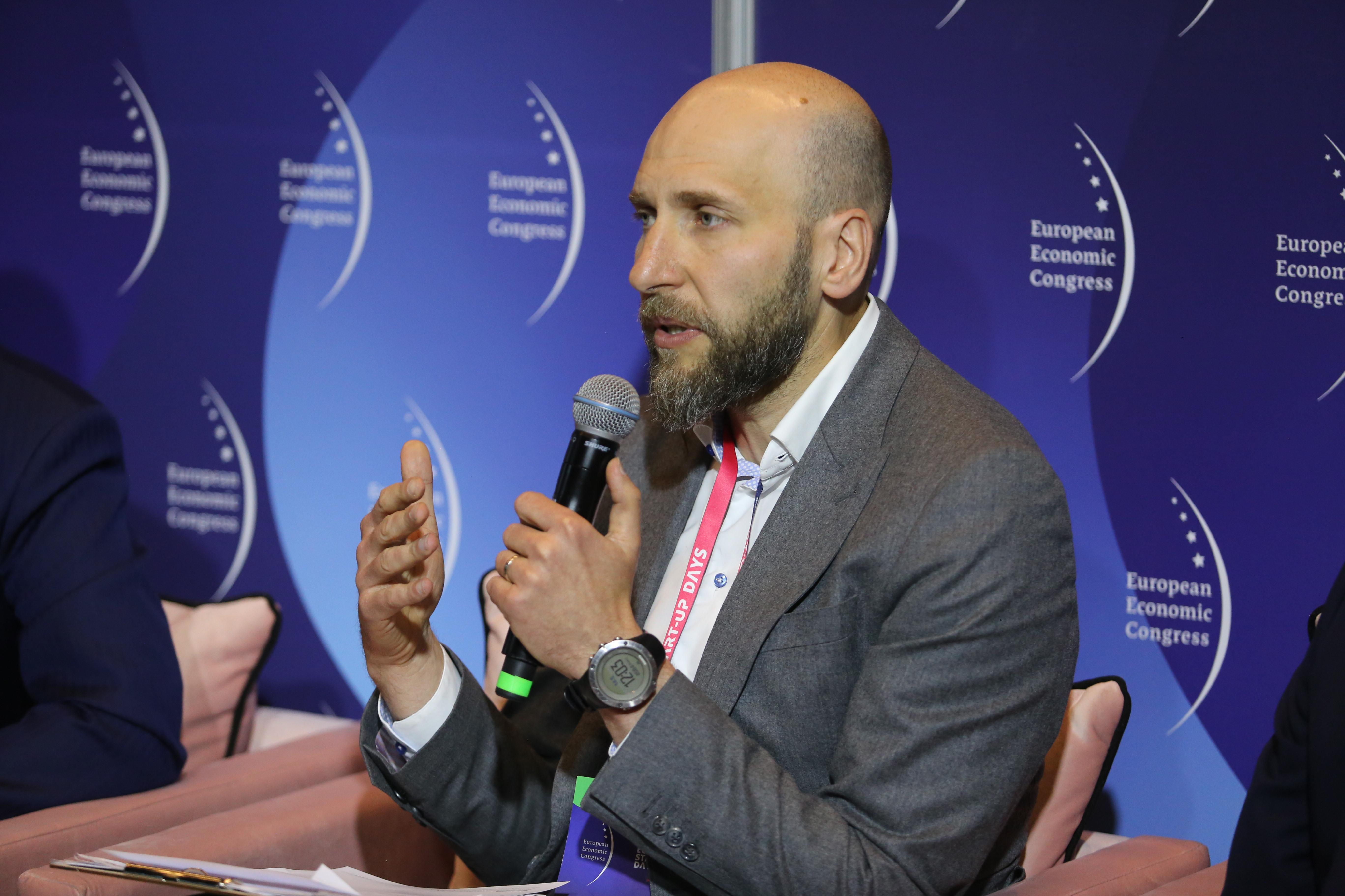 Tomasz Konik, wiceprezes, partner zarządzający w Deloitte (Fot. PTWP)
