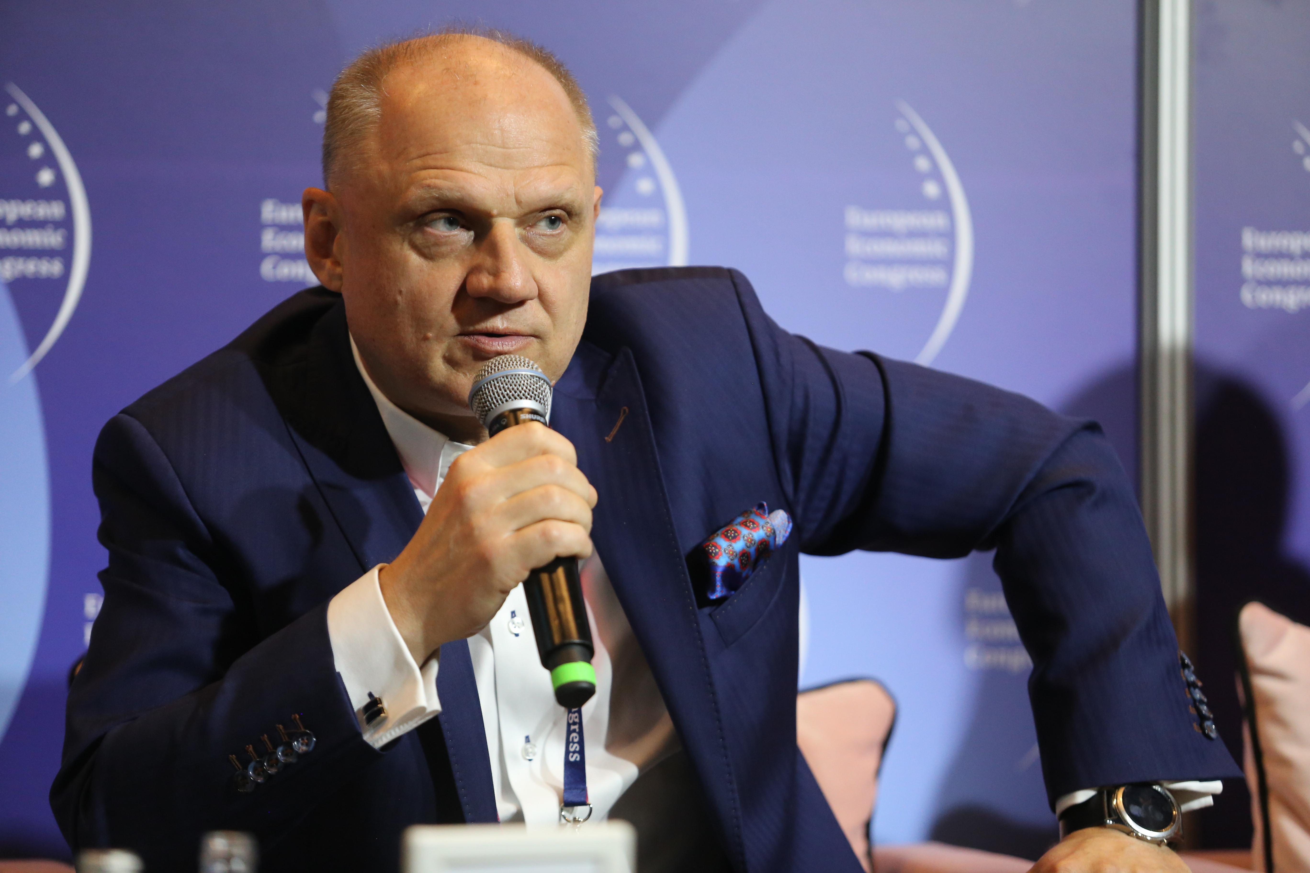 Cezary Mączka, członek zarządu i dyrektor pionu zarządzania zasobami ludzkimi w Budimeksie (Fot. PTWP)