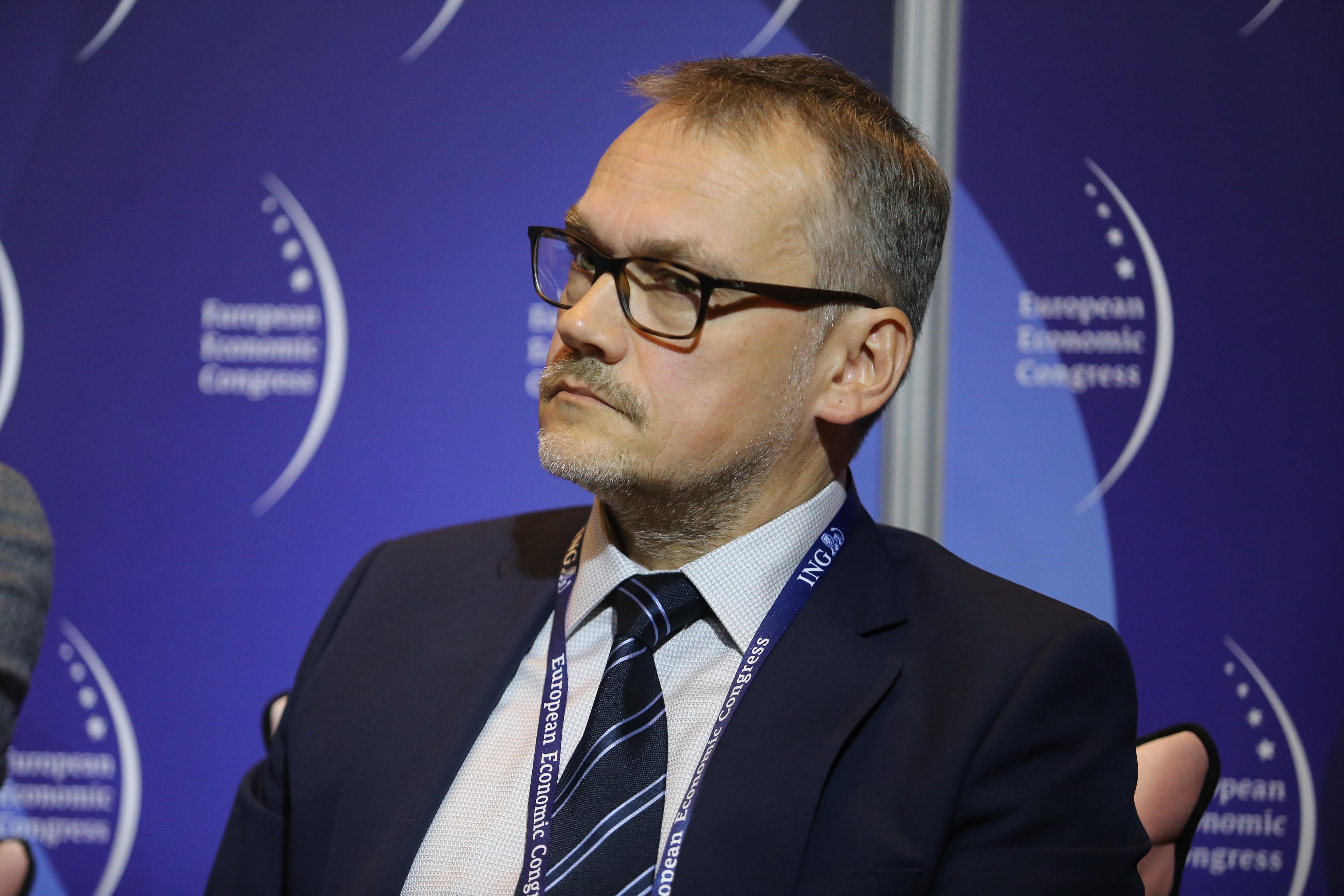 Michał Kaźmierski, dyrektor generalny na Polskę oraz Kraje Bałtyckie w Gilead Sciences Poland (Fot. PTWP)