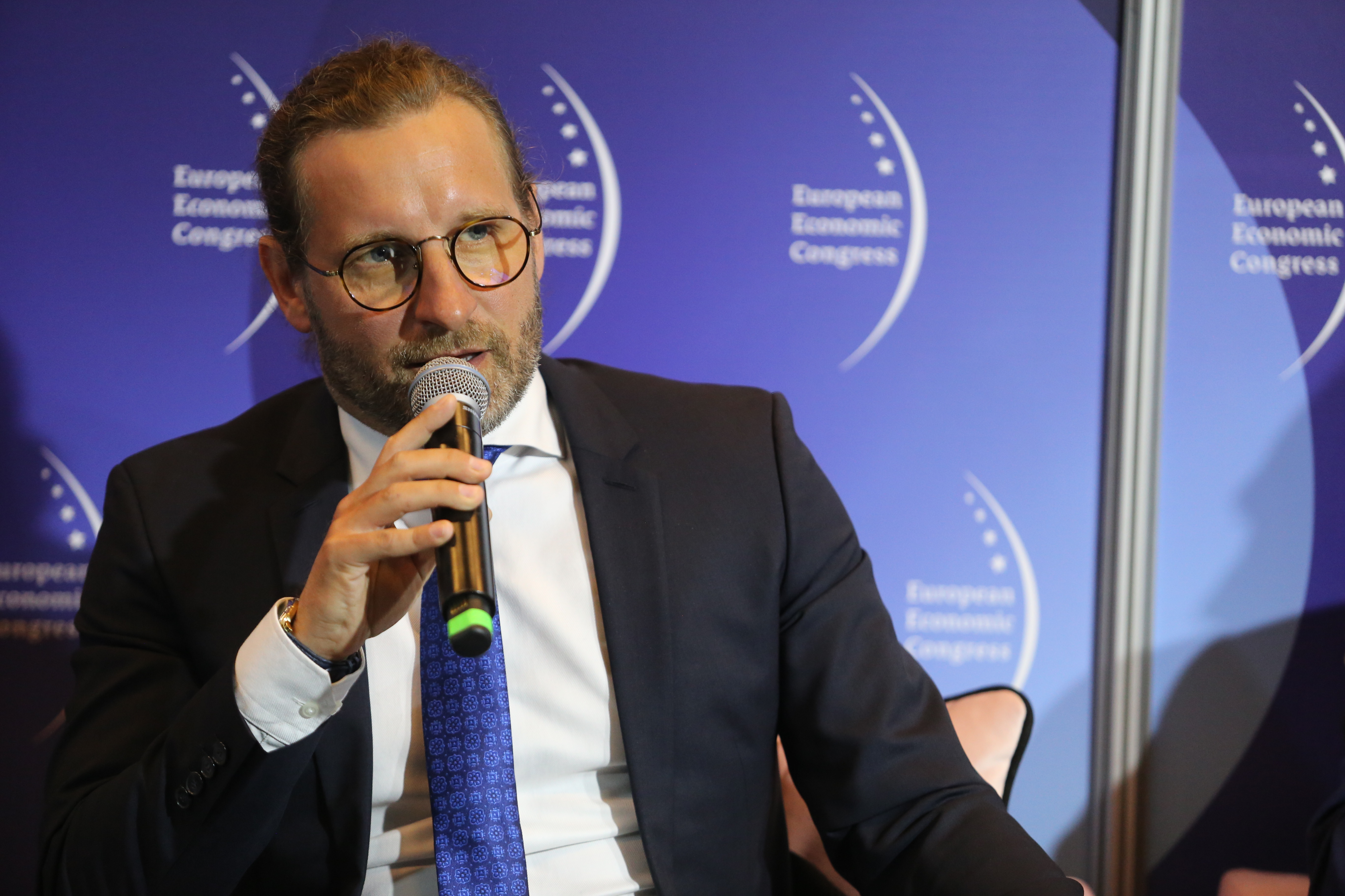 Kamil Kamiński, wiceprezes ds. klienta i wsparcia korporacyjnego w Tauron Polska (Fot. PTWP)