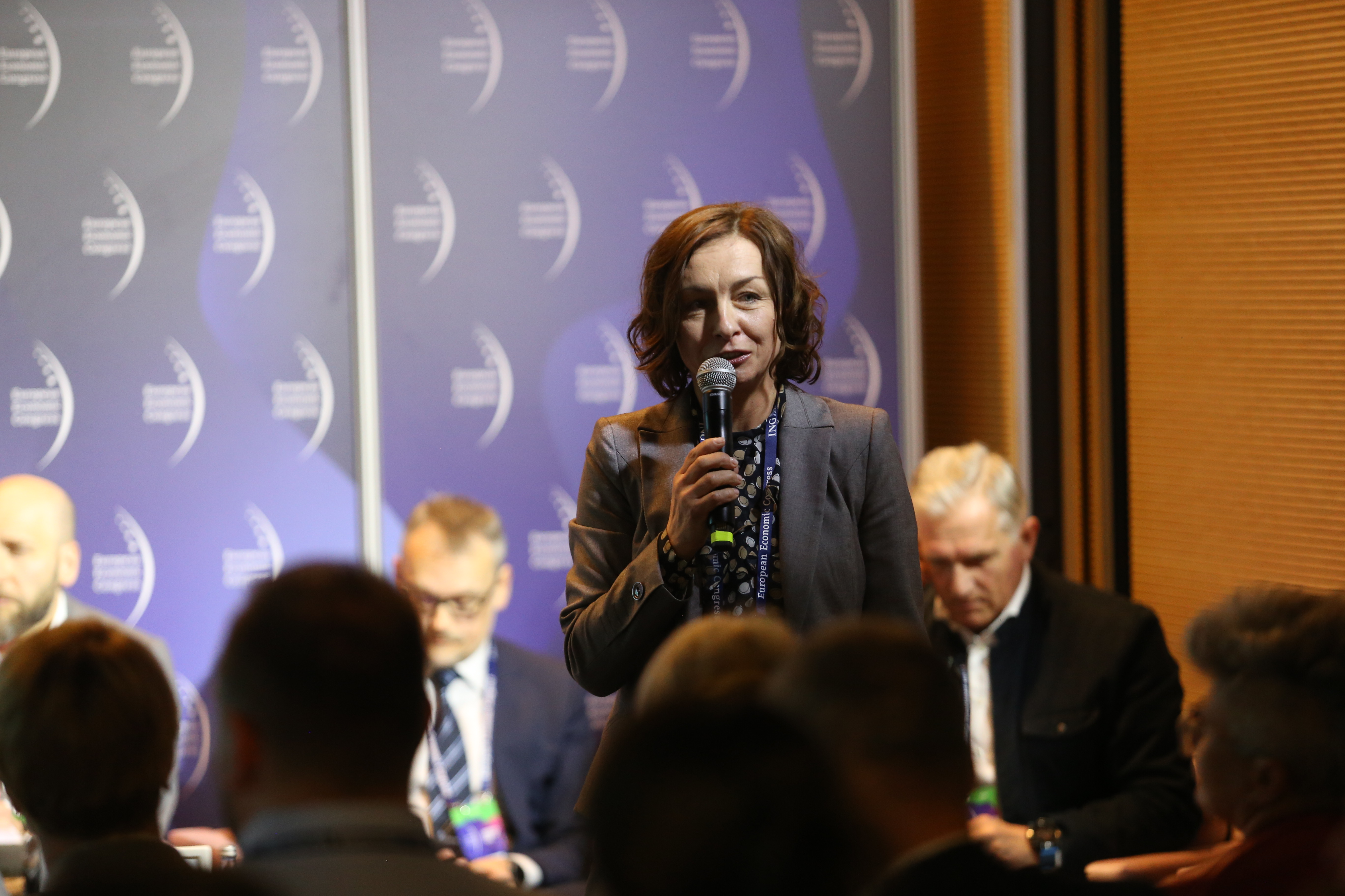 Debatę poprowadziła Iwona Suchomska, prezes Keystone Consulting (Fot. PTWP)