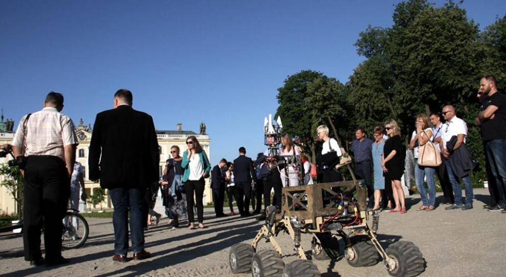 Łazik marsjański studentów Politechniki Białostockiej wystartuje na zawodach w USA