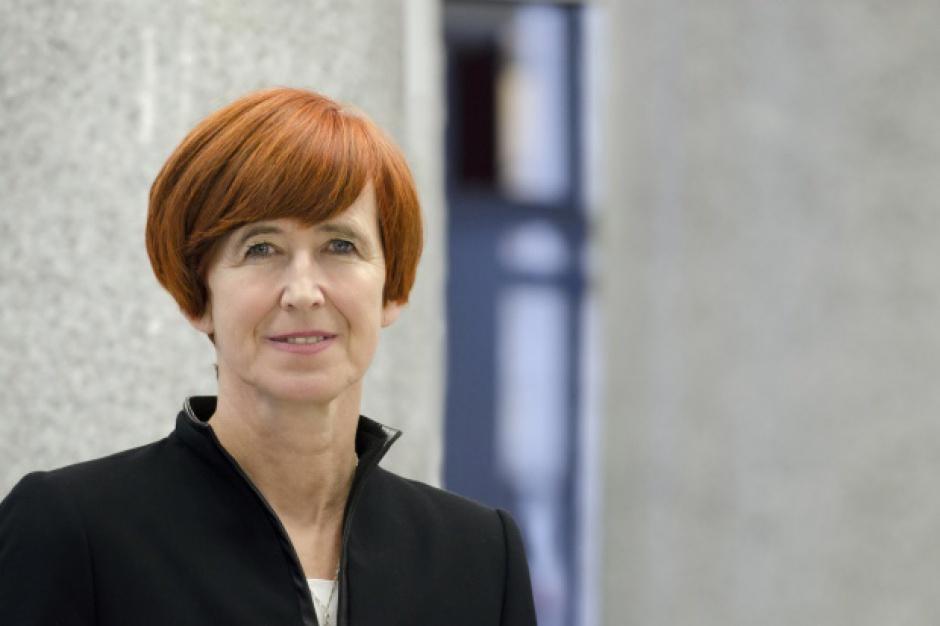 Elżbieta Rafalska, minister rodziny, pracy i polityki społecznej, w niedzielnych wyborach (26 maja) zdobyła mandat do Parlamentu Europejskiego z okręgu zachodniopomorsko-lubuskiego. (Fot. PTWP)
