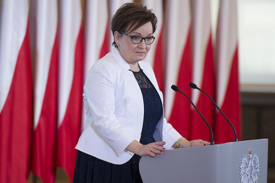 Europosłem zostanie obecna minister edukacji narodowej Anna Zalewska. (Fot. KPRM/P. Tracz)