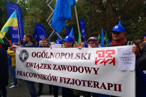 Po spotkaniu z ministrem fizjoterapeuci i diagności zawieszają protest