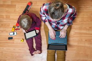 Pracujący rodzic nie ma łatwo