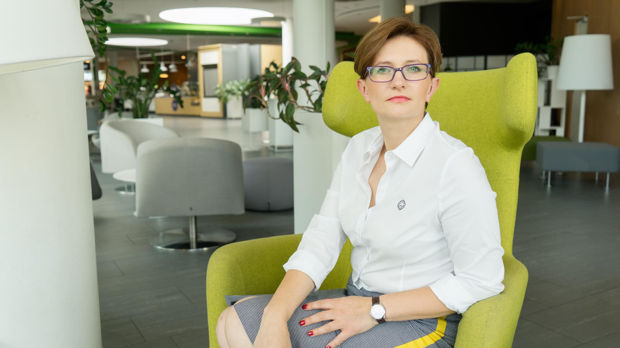 Kamila Gutowski, współwłaściciel agencji pracy tymczasowej Skills Net. (fot. materiały prasowe)