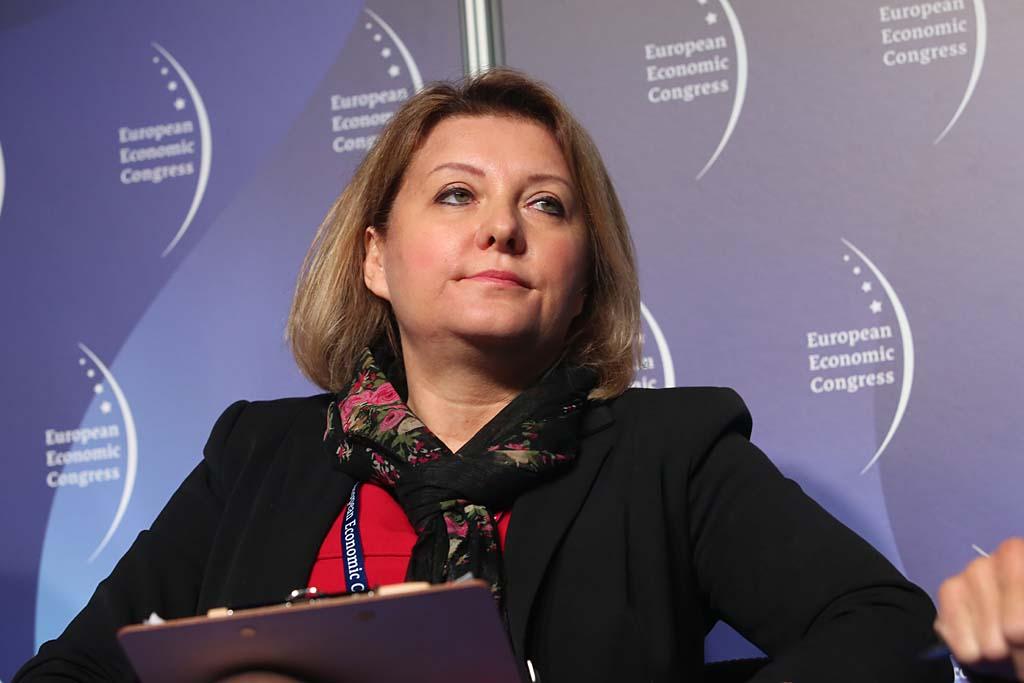Izabela Olszewska, członek zarządu Giełdy Papierów Wartościowych w Warszawie SA