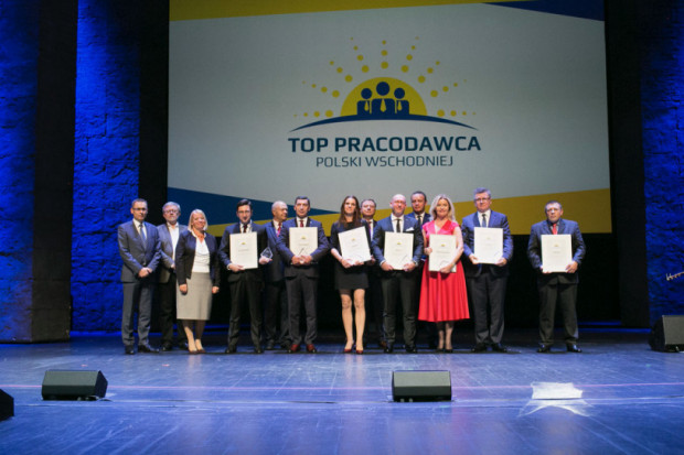 Laureaci ubiegłorocznej edycji konkursu Top Pracodawca Polski Wschodniej (fot.PTWP)