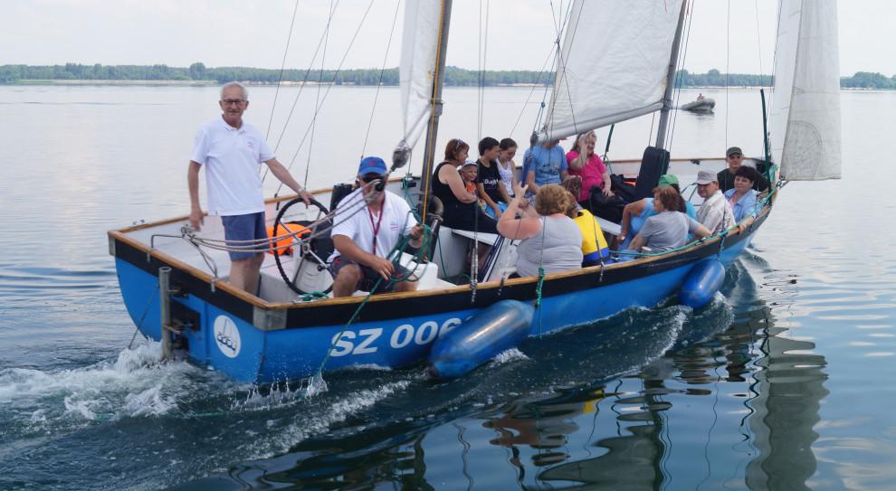 PZU pomaga żeglować niepełnosprawnym w Chełmie Śląskim