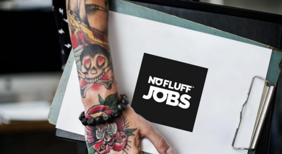 No Fluff Jobs już 5 lat w Polsce. Zmienia identyfikację graficzną