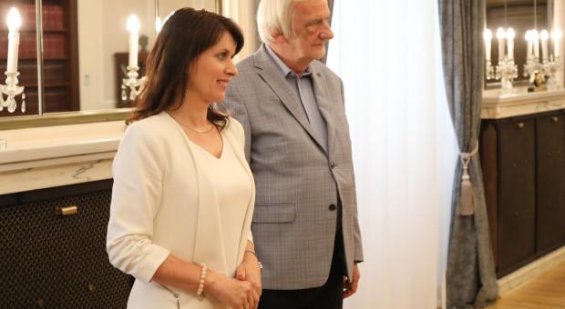 Ryszard Terlecki i Ewa Kozanecka w Radzie Ochrony Pracy