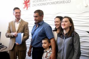Ukraiński kierowca wyróżniony za pomoc ofiarom wypadku