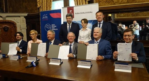 Politechnika Łódzka i Łódzka Specjalna Strefa Ekonomiczna razem na rzecz technologii 5G