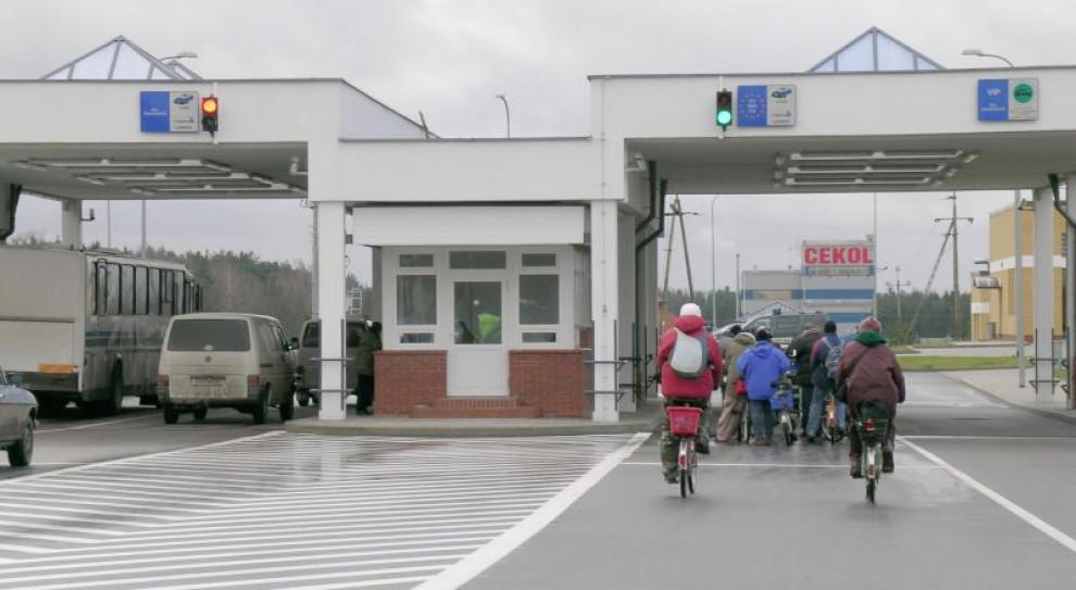 Utrudnienia na przejściach w Gołdapi i Grzechotkach