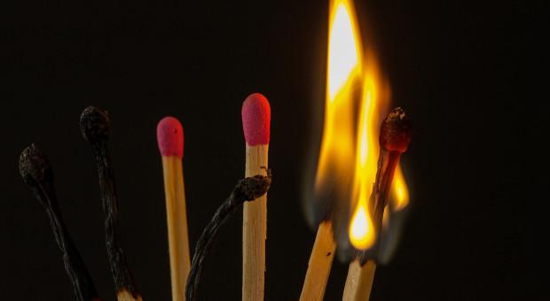 Tragiczny pożar w wytwórni zapałek. Są liczne ofiary