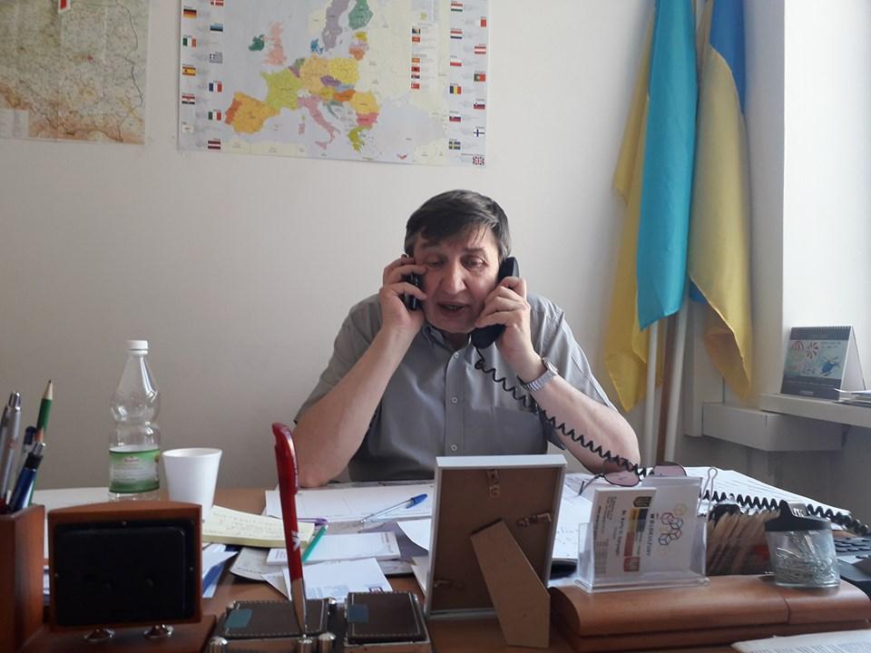 Na zdjęciu Jurij Kariagin. (fot. Facebook/Katarzyna Duda)